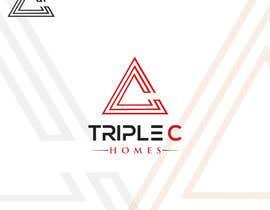 Nro 117 kilpailuun Logo Design for Triple C Homes käyttäjältä Rahat4tech