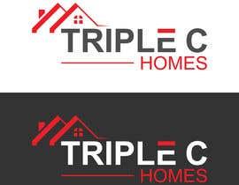 Nro 140 kilpailuun Logo Design for Triple C Homes käyttäjältä kawsermia75580