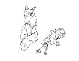 #16 for Illustrate a Cat and Plants on Bottom af anakir