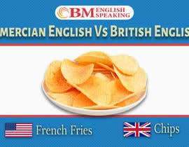 sbiswas16 tarafından Inforgraphics Design for American English Vs British English Feb 2019 için no 19