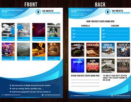 #52 for Design A6 flyer for an escape room review website by mindlogicsmdu