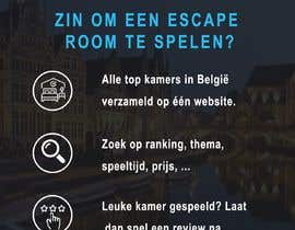 #21 for Design A6 flyer for an escape room review website by xuantinh