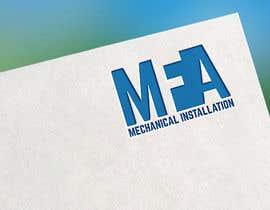 "#70 I need a logo design for ""MFA"" with underneath the logo ""Mechanical Installation "" részére motorhead141697 által"