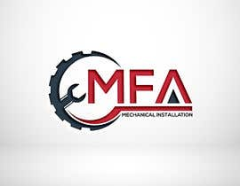 "#73 I need a logo design for ""MFA"" with underneath the logo ""Mechanical Installation "" részére motorhead141697 által"
