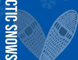 #26 for Arctic Snowshoe Race: design for beach flag/banner af badriaabuemara