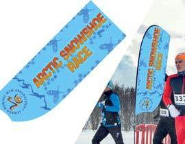 #28 for Arctic Snowshoe Race: design for beach flag/banner af JunrayFreelancer