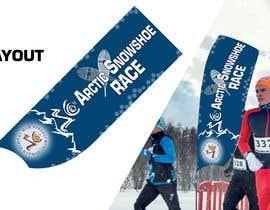 #30 for Arctic Snowshoe Race: design for beach flag/banner af JunrayFreelancer