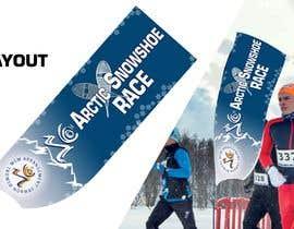 #31 for Arctic Snowshoe Race: design for beach flag/banner af JunrayFreelancer