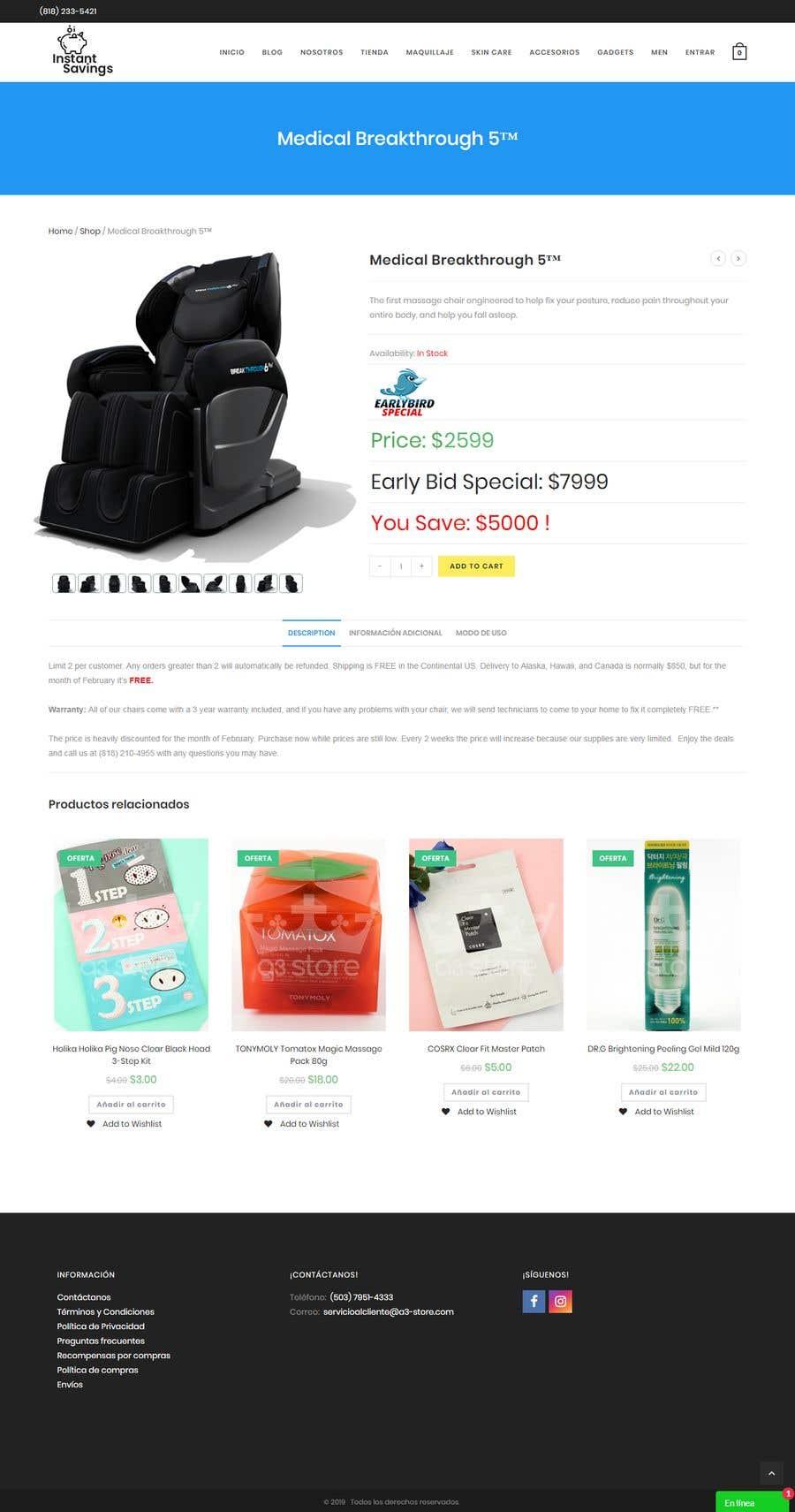 Contest Entry #6 for Design A Website - Easy money