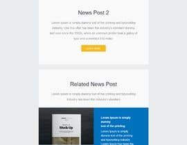 #27 for Design a Newsletter HTML by poujulameen