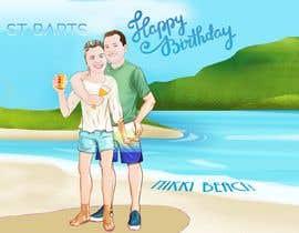 #43 for Cartoon Birthday Design af alfannan