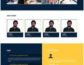 nº 43 pour Website for Consulting company par Codesmithtech01