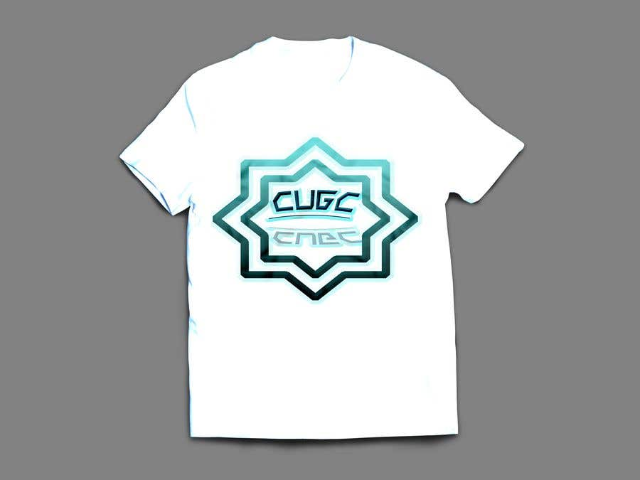 Kilpailutyö #42 kilpailussa Create a new  design for CUGC tshirt