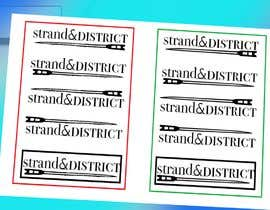 #13 for Strand and district logo by intermahmud