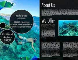 #1 для Bi-fold Flyer for tourist sea activities от ultralogodesign