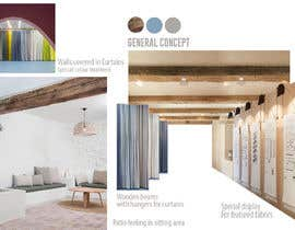 #4 для Interior Design Showroom concept for curtain company. 21m2. от DASEINteam