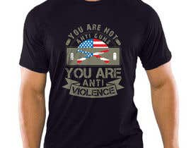 #173 for Anti Violence T-shirt design af hasembd