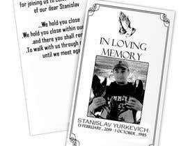 #2 for Design me a prayer card for a funeral af mohamedaboneh