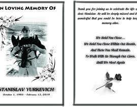 #7 for Design me a prayer card for a funeral af psarker94