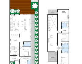 #23 for Change the Layout of a 4 bedroom house by Arch08