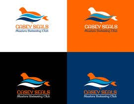 #39 untuk Refresh the logo of a masters swimming club -- 2 oleh Dickson2812