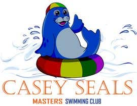 #33 for Refresh the logo of a masters swimming club -- 2 by ShahzaibAhmed786