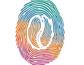 #30 untuk I want you to add the shape of coffee bean to the original fingerprint photo.. so I expect a curved line in the middle of the fingerprint . Please keep the multicolors as it is oleh sarkhanzakiyev