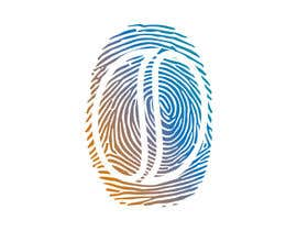 #38 untuk I want you to add the shape of coffee bean to the original fingerprint photo.. so I expect a curved line in the middle of the fingerprint . Please keep the multicolors as it is oleh shifatabir