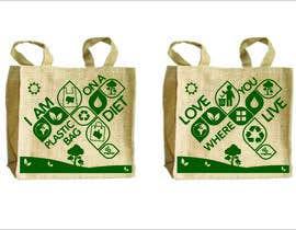 Nro 44 kilpailuun Two Hemp Shopping Bag Designs käyttäjältä studiodecor
