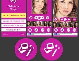 Nro 12 kilpailuun Redisign icon and a couple of screens for an app käyttäjältä HemaMaximDesign
