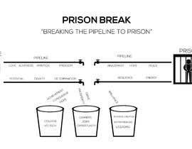 nº 5 pour Prison Break Logo par IqbalArt