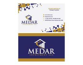 #36 pentru Medar Investment L.L.C Logo, Business Card and Letter Head de către mssamia2019
