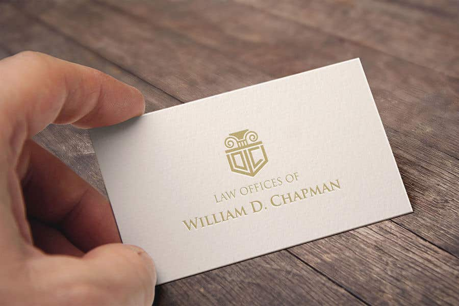 Konkurrenceindlæg #19 for Logo Design for the Law Offices of William D. Chapman