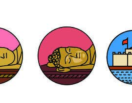 #18 for Looking for 1x1 inch 2 icons of 2 historical buddhist places. Got more work for winner by UrbanArti5t