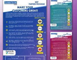 Nro 4 kilpailuun Create Product Brochure käyttäjältä IbtihajSheikh1