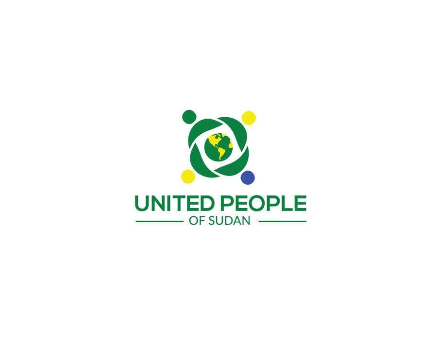 Kilpailutyö #54 kilpailussa LOGO FOR UNITED PEOPLE OF SUDAN