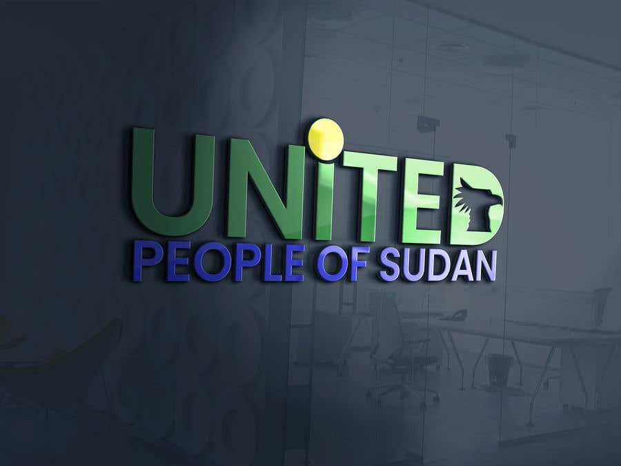 Kilpailutyö #21 kilpailussa LOGO FOR UNITED PEOPLE OF SUDAN