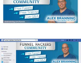 #38 for Facebook Group Cover Photo for Funnel Hackers Community by nicoleplante7