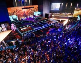 nº 26 pour Design a Digital Visually Immersive Stage for an eSports Auditorium par freemarkcasty91