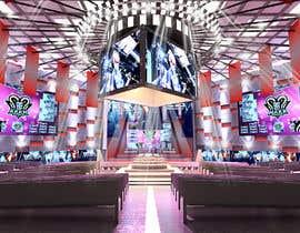 nº 4 pour Design a Digital Visually Immersive Stage for an eSports Auditorium par YasharLuxuryArt