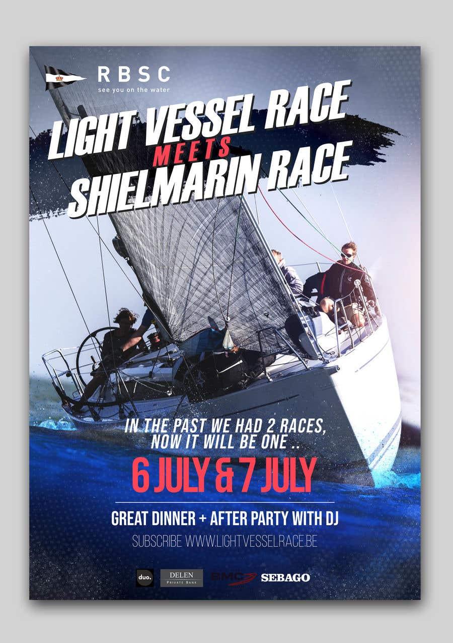 Kilpailutyö #8 kilpailussa Create a boat race poster