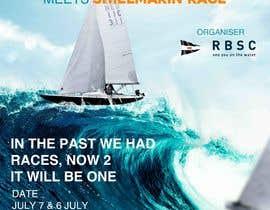 Nro 6 kilpailuun Create a boat race poster käyttäjältä eslamhalmi2