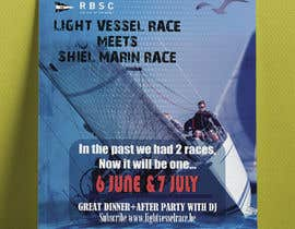 Nro 21 kilpailuun Create a boat race poster käyttäjältä riyad4675