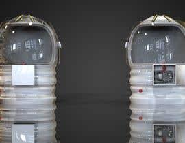 nº 9 pour Plastic Astronaut helmet with visor with 3D printable file in STL format par prashant8080