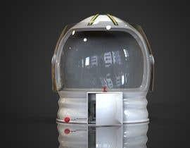 nº 11 pour Plastic Astronaut helmet with visor with 3D printable file in STL format par prashant8080