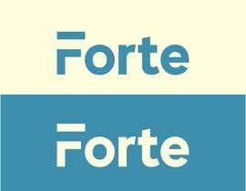 Nro 51 kilpailuun Forte Logo käyttäjältä robsonpunk