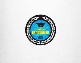#8 for Design A Graduation Circular Pin/Button by luphy