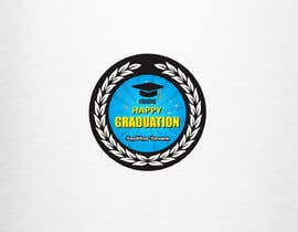 #9 for Design A Graduation Circular Pin/Button by luphy