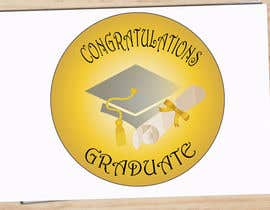#5 for Design A Graduation Circular Pin/Button by igorsanjines