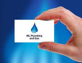 Nro 463 kilpailuun company logo design for ML PLUMING AND GAS käyttäjältä jxndesign